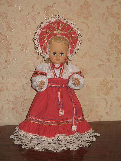 Платье на русскую народную куклу 2